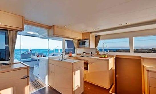 Lagoon 450 Catamaran Charter In Turkey