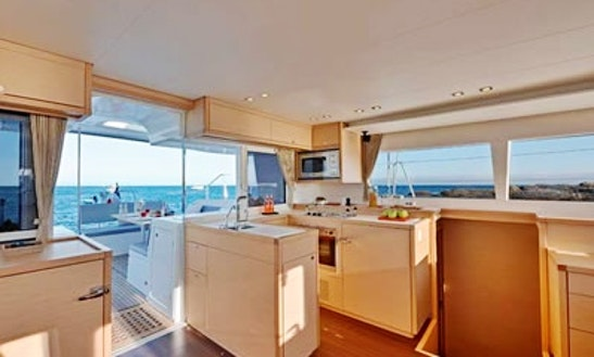 Lagoon 450 Catamaran Charter In Turkey