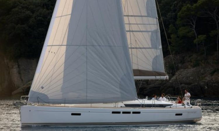 Charter Sun Odyssey 509 Sailing Yacht in Italy