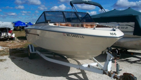 Bow-rider Available In Twin Lakes, Powers Lake Or Bohners Lake