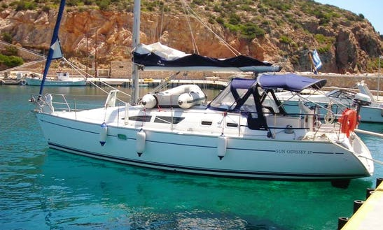 37' Jeanneau Sailing Yacht Charter In Deltaville, Virginia