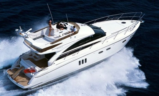 Charter Princess 62 Motored Yacht In Split