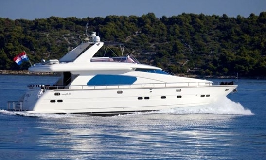 Charter 68' Motored Yacht In Split