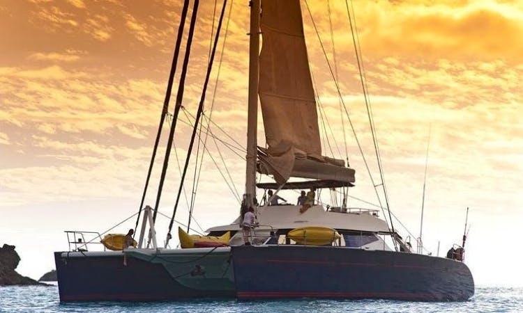 Charter Nahema IV Sailing Yacht in Caribbean