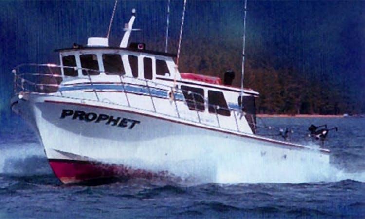 Prophet - Coast Guard Certified 45' Delta for Charter on Lake Tahoe