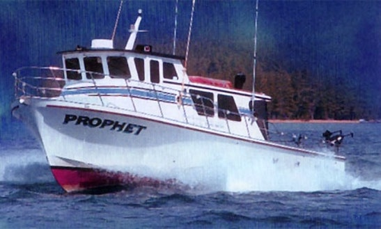 Prophet - Coast Guard Certified 45' Delta For Charter On Lake Tahoe