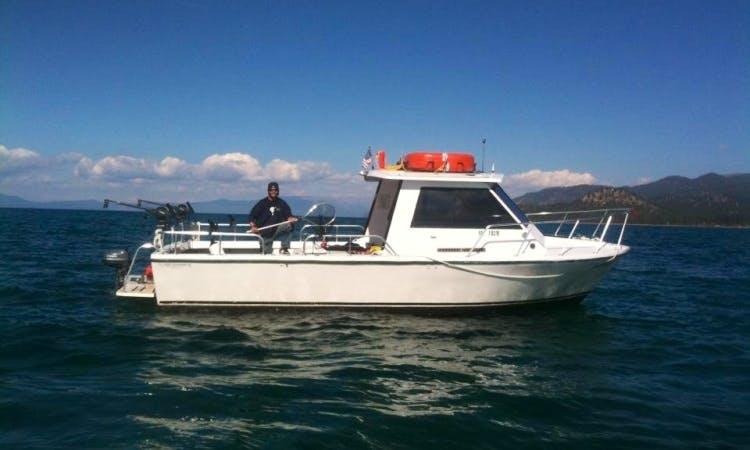 Hopper V - Coast Guard Certified 30' Island Hopper on Lake Tahoe