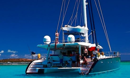 Charter Catsy 62' Sailing Yacht In Caribbean