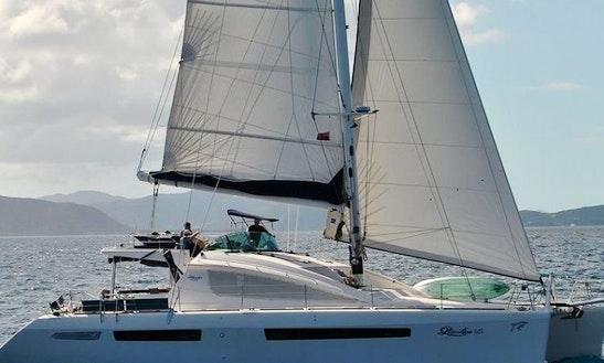 Charter Jeri 62' Lagoon In Caribbean