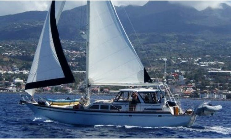 Charter Verna Breeze 54' Sailing Yacht in Caribbean