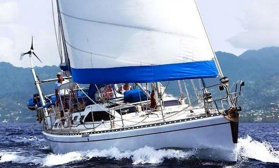 Charter Scorpio 52' Luxury Sailing Yacht In Caribbean