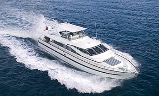 Charter Runaway 82' Power Yacht In St. Thomas
