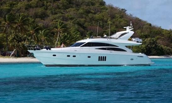 Charter Sorana 66' Power Yacht In Caribbean
