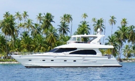 Charter Lady Margaret 64' Power Yacht In Caribbean