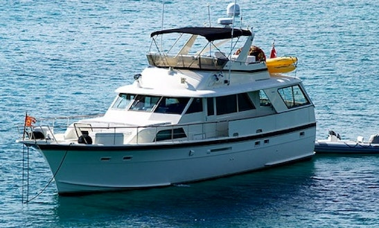 Charter Analisa 60' Power Yacht In Caribbean