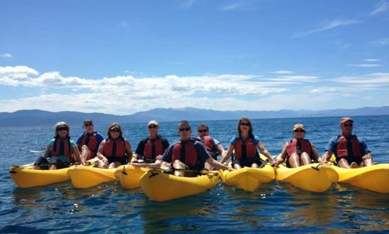 Kayak Boat Rental In Tahoe Vista