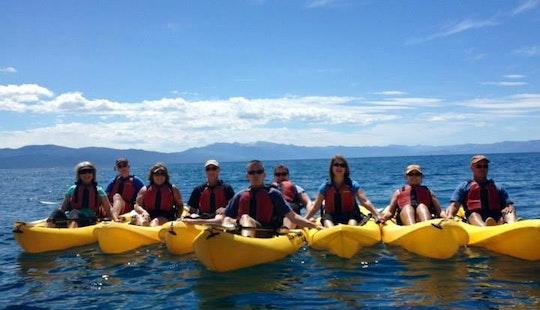Kayak Boat Rental In Tahoe Vista