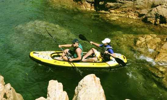 Tandem Kayak Rental On Lake Chelan