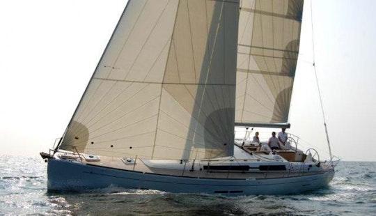 Sailboat Yacht Charter In Aegean Sea