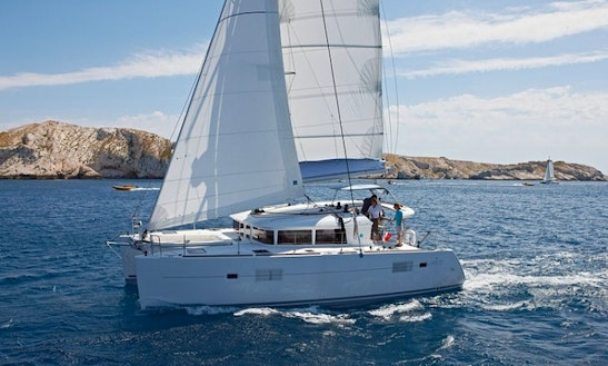 Catamaran Charter In Aegean Sea
