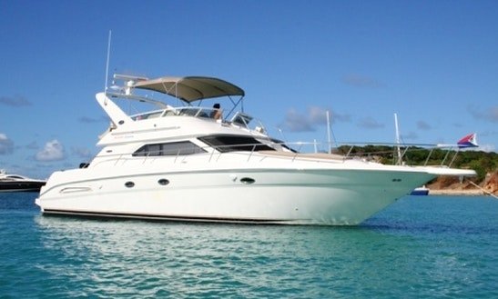 50' Yacht Charter In Charlotte Amalie