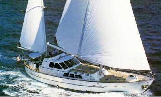 87' Sailboat Charter In Charlotte Amalie