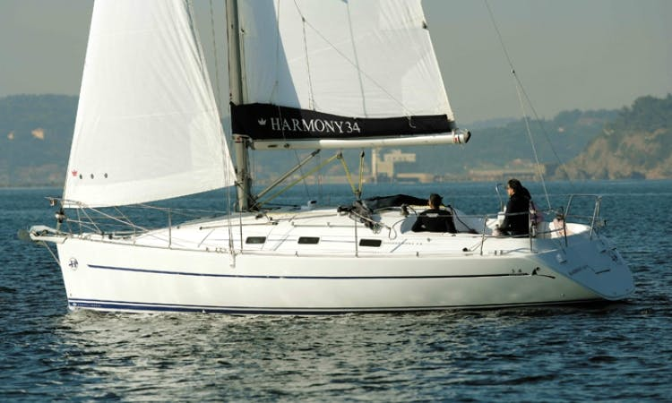 Charter Sailing Harmony 34 in Spain
