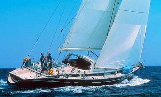 70' Sailboat Charter Charlotte Amalie