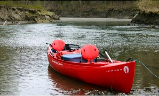 Rent Mad River Canoes On Telegraph Creek
