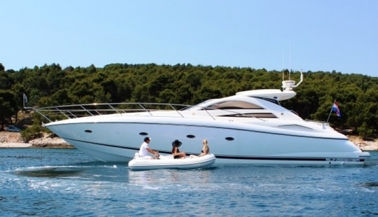 57' Sunseeker Motor Yacht Charter In Split Croatia