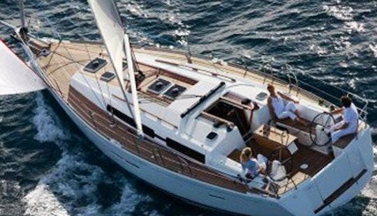 Charter Cruising Monohull Dufour 405 Gl In Gocek Base Accommodates 6 People