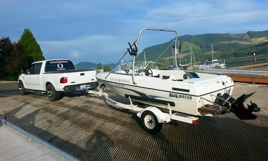 17' Bluewater Boat Rental In Springfield