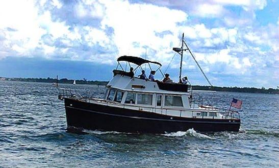42' Grand Banks Trawler From Sarasota, Florida