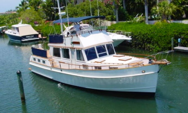 43' Grand Banks Trawler Charter In Sarasota, Florida