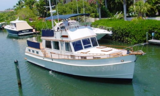 43' Grand Banks Motor Yacht Charter In Sarasota, Florida