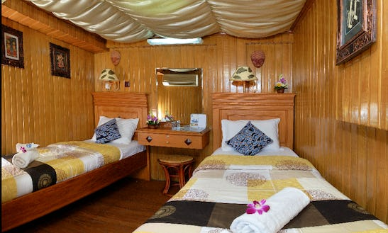 Charter A 20 Person Gulet In Bali, Indonesia
