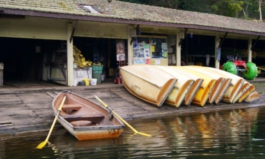 Hire A Row Boat In Audley