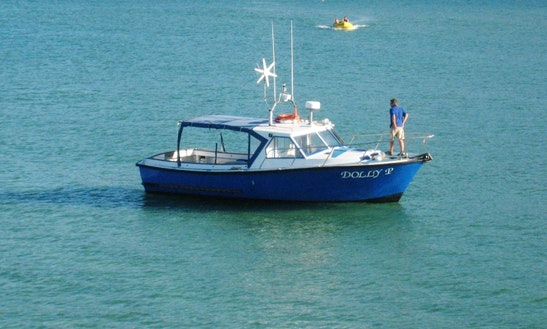 Dolly P Captained Boat Hire In St. Ives