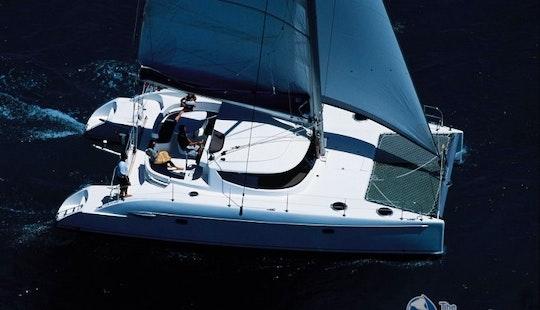 Charter Lavezzi 40' Catamaran Maia In Italy