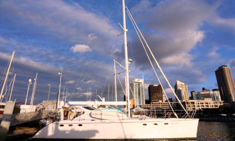New Zealand Luxury Yacht Charter on 58' Lady Helena Luxury Catamaran