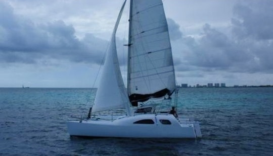 Discover Cancún Aboard The 38' Cruising Catamaran
