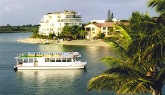 Captain Charters On Pontoon Boat From Noosa, Queensland