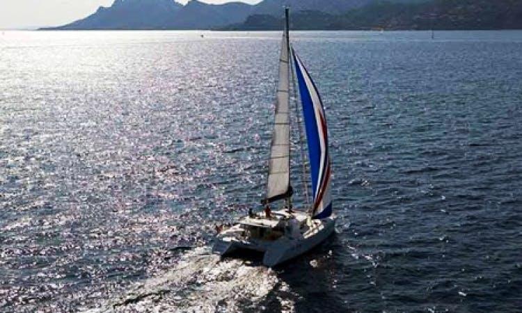 Charter Lagoon 440 Catamaran in the Caribbean