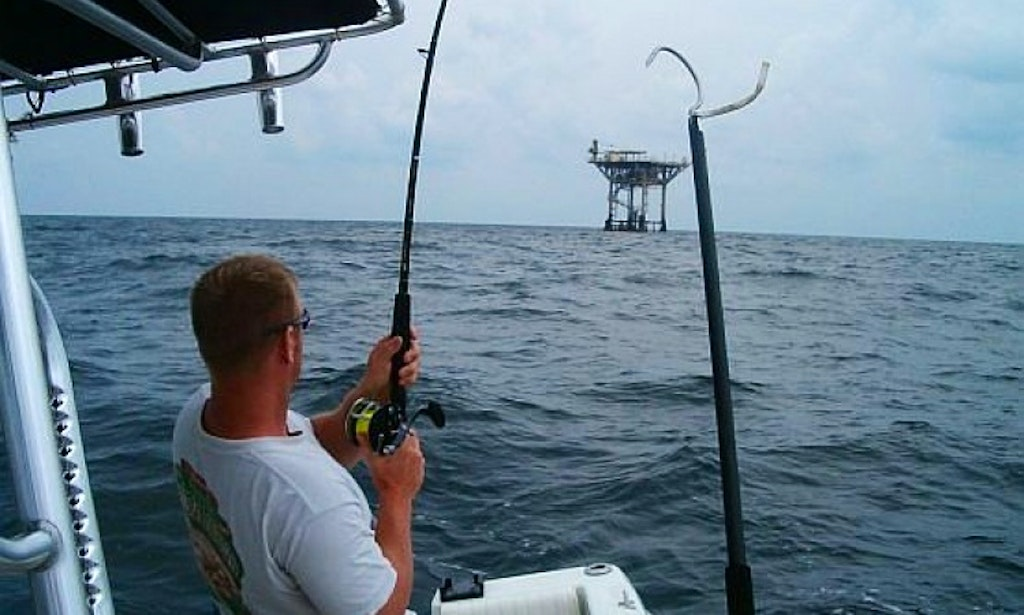 Fishing charters on 31 39 ocean master center console in for Freeport texas fishing charters