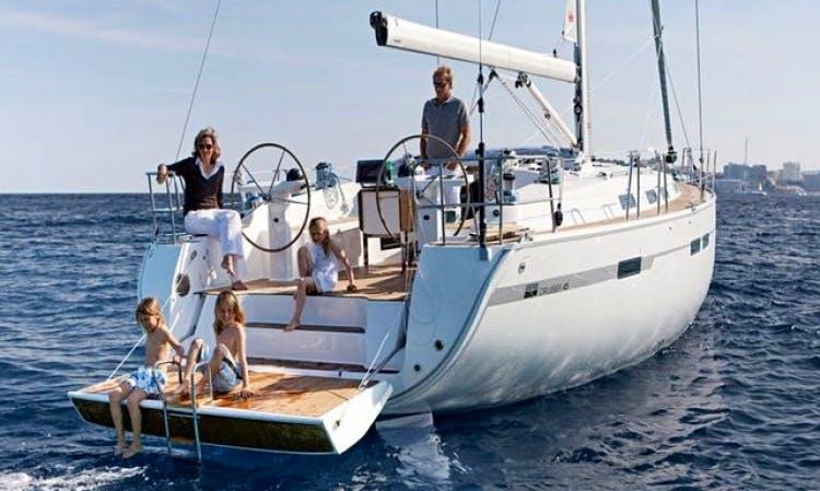45' Bavaria Sailboat Charter in Croatia For 8 People