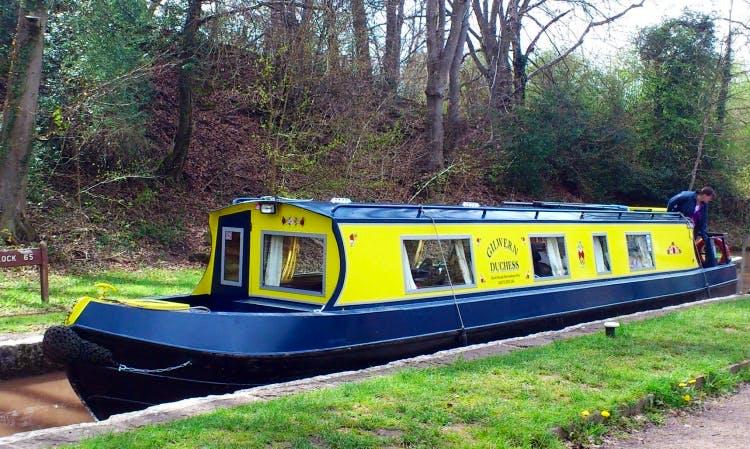 Gilwern Duchess Narrowboat Hire