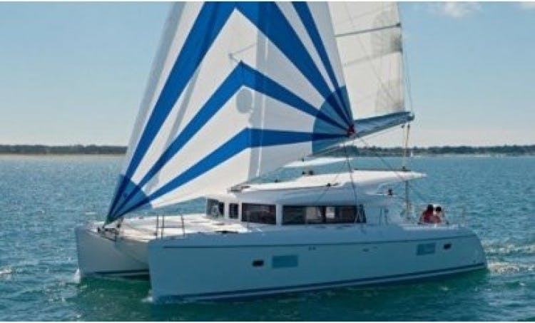 Bareboat Lagoon 421 Catamaran in Greece