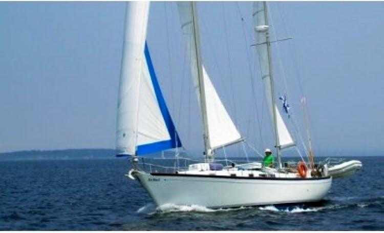 42' Cruising Monohull Charter in Nova Scotia, Canada