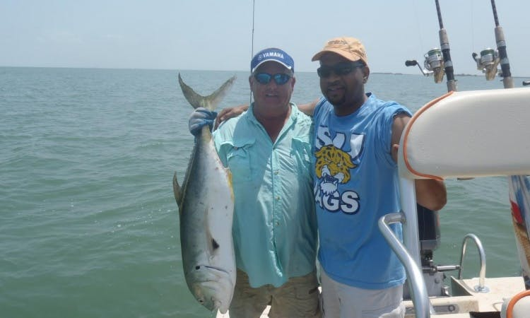 Bay Fishing Trip With Captain Jack In Aransas Pass, Texas