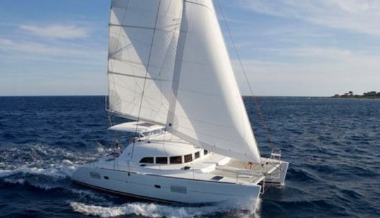 Lagoon 380 Catamaran Charter In Italy